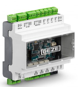 Das Schnitstellenmodul IO420 von Geze (Bild: Geze GmbH)
