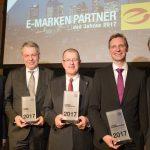 E-Markenpartner-Preise 2017 verliehen