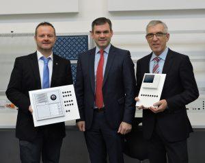 Siedle-Elektrotechnik für die Lernfabrik 4.0