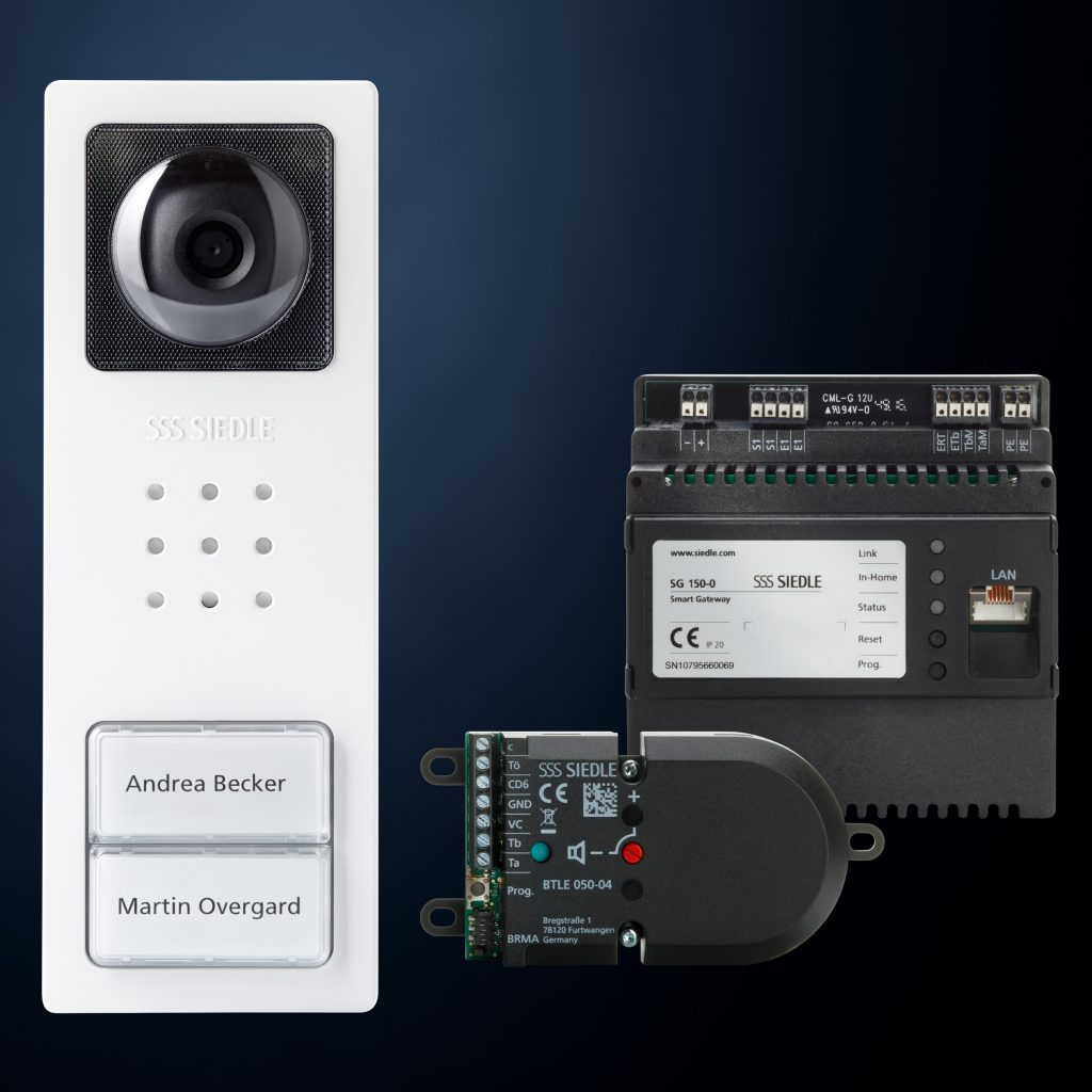 türstation als audio- und videovariante - gebÄudedigital