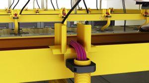 Kabelrinnensystem für LWL- und Datenkabelinstallationen von Schneider Electric