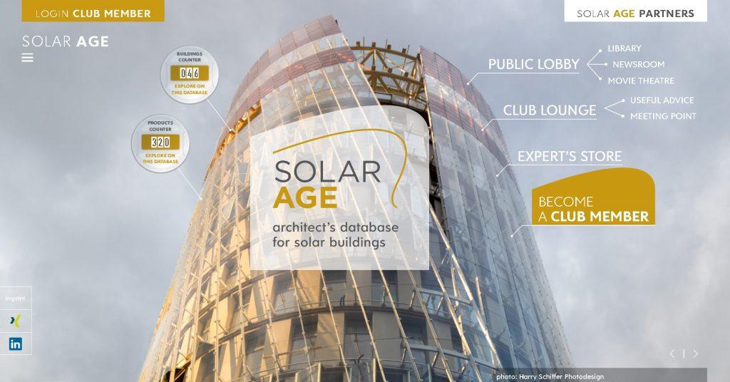 (Bild: Solar Age - Architect's database for solar)