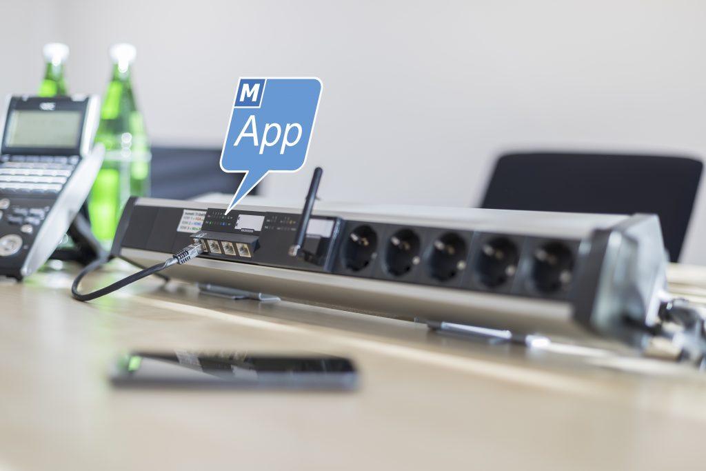 Die Steuerungssoftware für die Raumautomation ist direkt auf den Micro-Switch installiert. (Bild: Microsens GmbH & Co. KG)