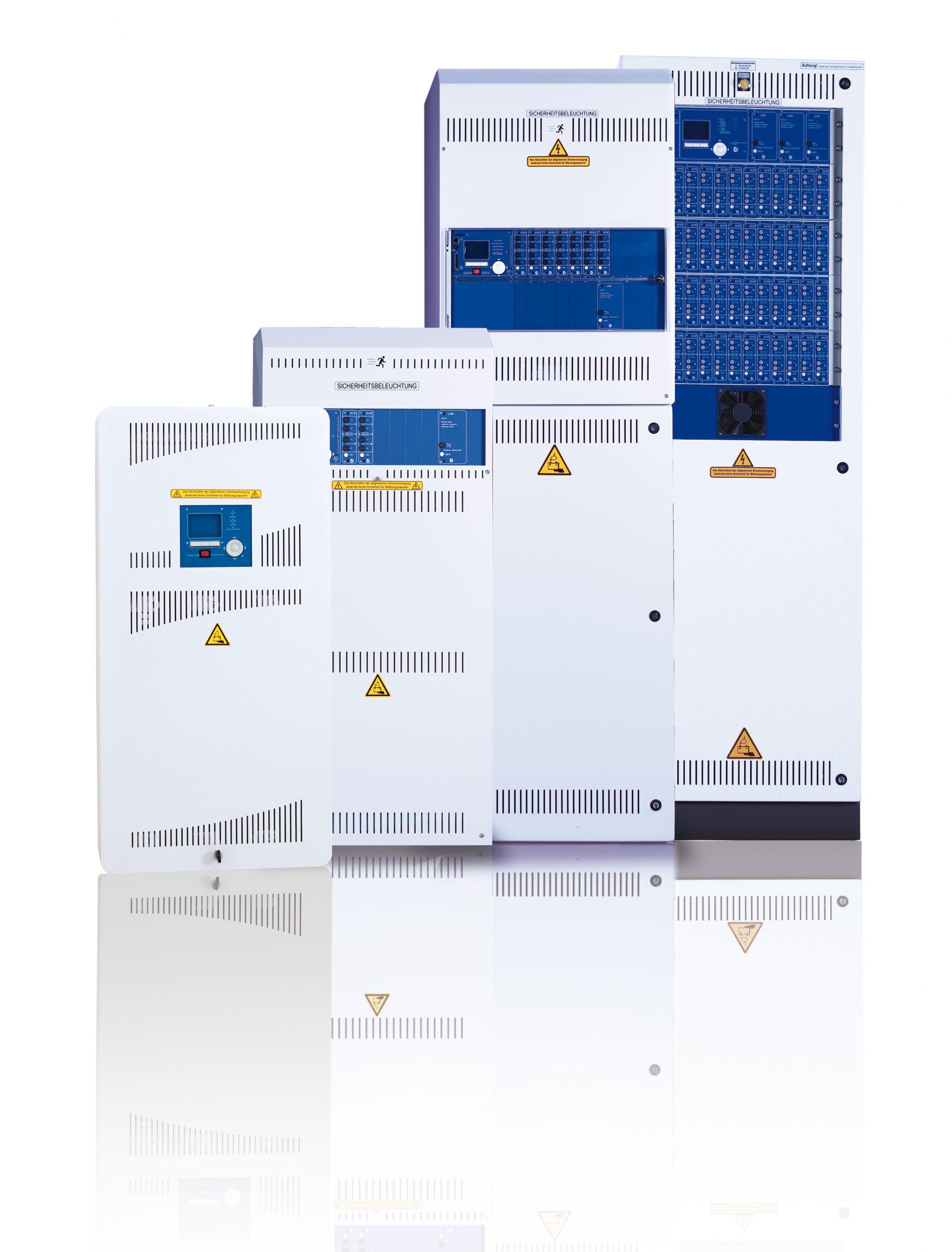 Sicherheitsstromversorgungssysteme für unterschiedliche Leistungsanforderungen (Bild: RP-Technik GmbH)