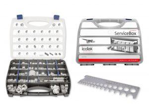 Icotek stellt neue QT-ServiceBox vor