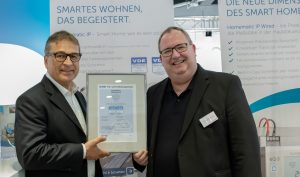 Verschlüsseltes Smart-Home-Bussystem mit VDE-Zertifikat