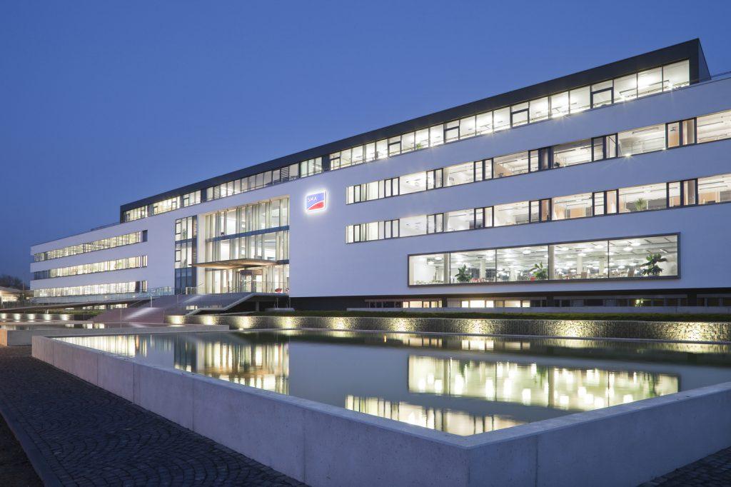 SMA, Niestetal / HHS Planer + Architekten AG, Kassel (Bild: SMA Solar Technology AG)