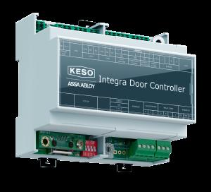 Bei der Offline-Variante von Integra gelangen die Daten über das Netzwerk auf den KESO Integra Türcontroller und den KESO Integra Update Leser (Bild: ASSA ABLOY Sicherheitstechnik GmbH)
