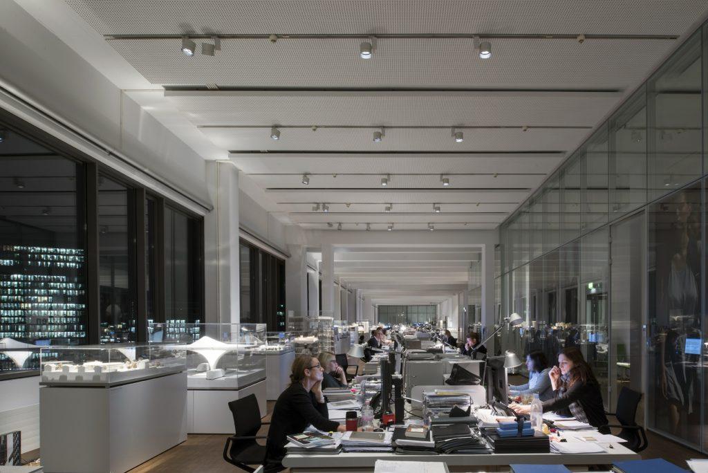 DEU, Deutschland, Duesseldorf, Ingenhoven Architects | DEU, Germany, Dusseldorf, Ingenhoven Architects (Bild: Thomas Mayer/ ERCO GmbH)