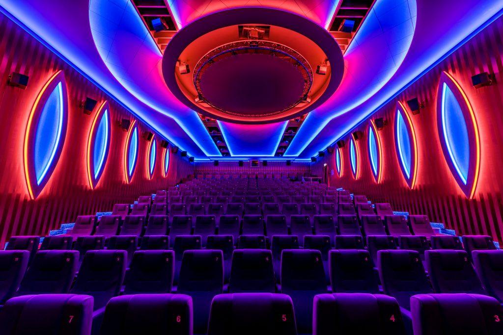 Beeindruckendes Lichterlebnis in den Kinosälen des Traumpalastes in Leonberg (Bild: Murrelektronik GmbH)