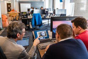 Für ihre innovativen Ideen hat Nexenio mit Wanzl den perfekten Partner gefunden. Beide sind ständig auf der Suche nach neuen Lösungen. (Bild: Nexenio GmbH)
