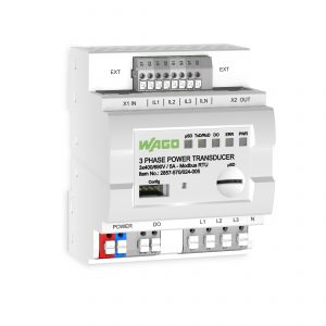 Um sämtliche Messwerte an eine übergeordnete Steuerung zu übertragen, steht eine Modbus-RTU-Schnittstelle zur Verfügung. (Bild: Wago Kontakttechnik GmbH & Co. KG)