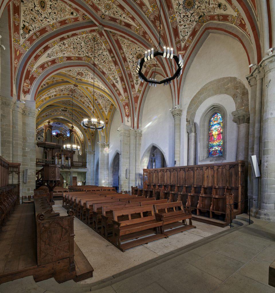 Temple de Lutry, Evangelische Kirche bei Lausanne, Schweiz (Bild: Tridonic GmbH & Co. KG)