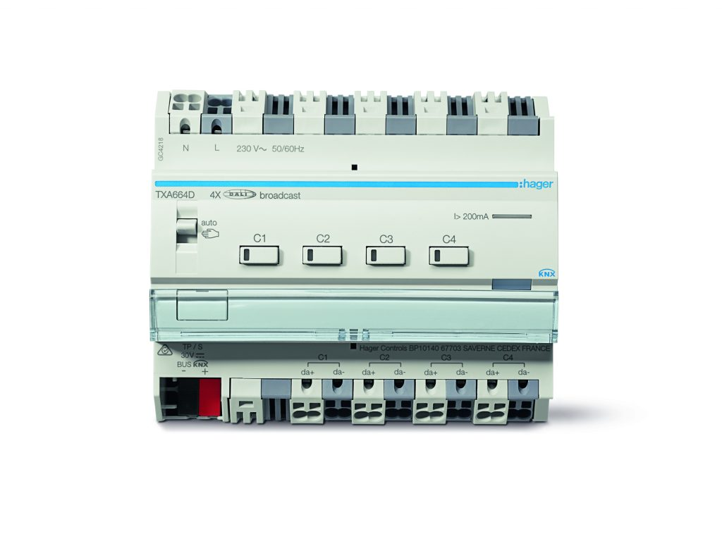 KNX/DALI Gateway Tunable White (Bild: Hager Vertriebsgesellschaft mbH & Co. KG)