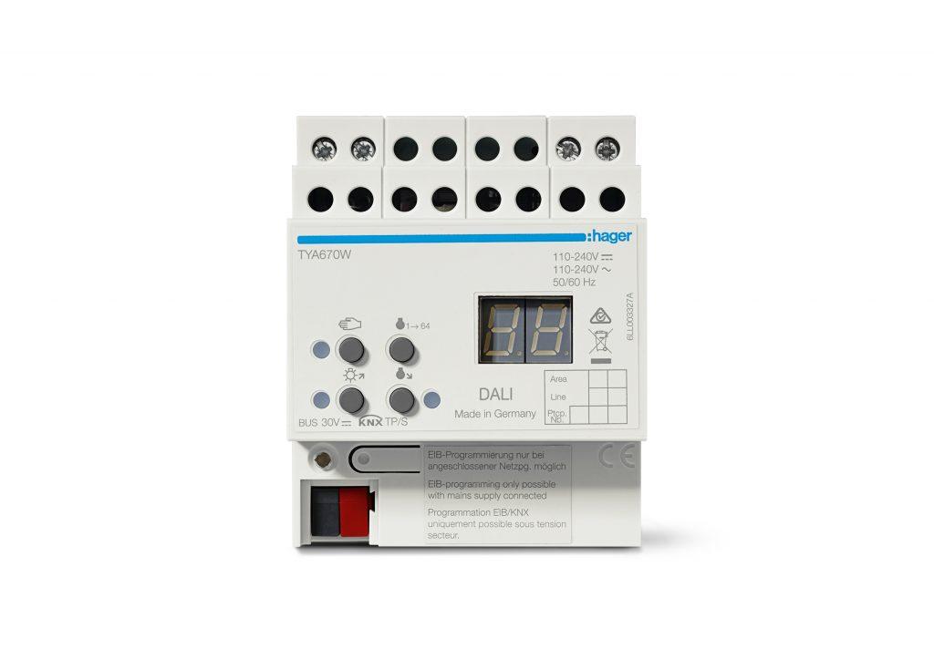 KNX/Dali-Gateway Tunable White (Bild: Hager Vertriebsgesellschaft mbH & Co. KG)