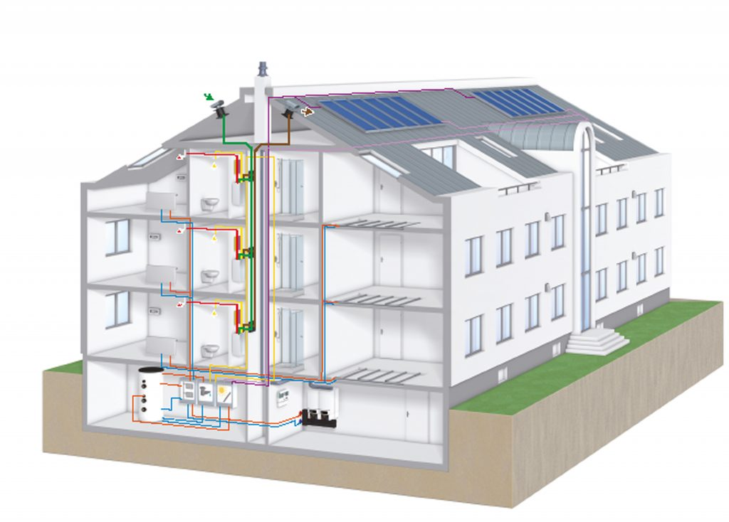 Es ist davon auszugehen, dass BIM künftig auch bei kleineren Wohnbauprojekten, etwa von Einfamilienhäusern, flächendeckend zum Einsatz kommen wird. (Bild: Buderus)