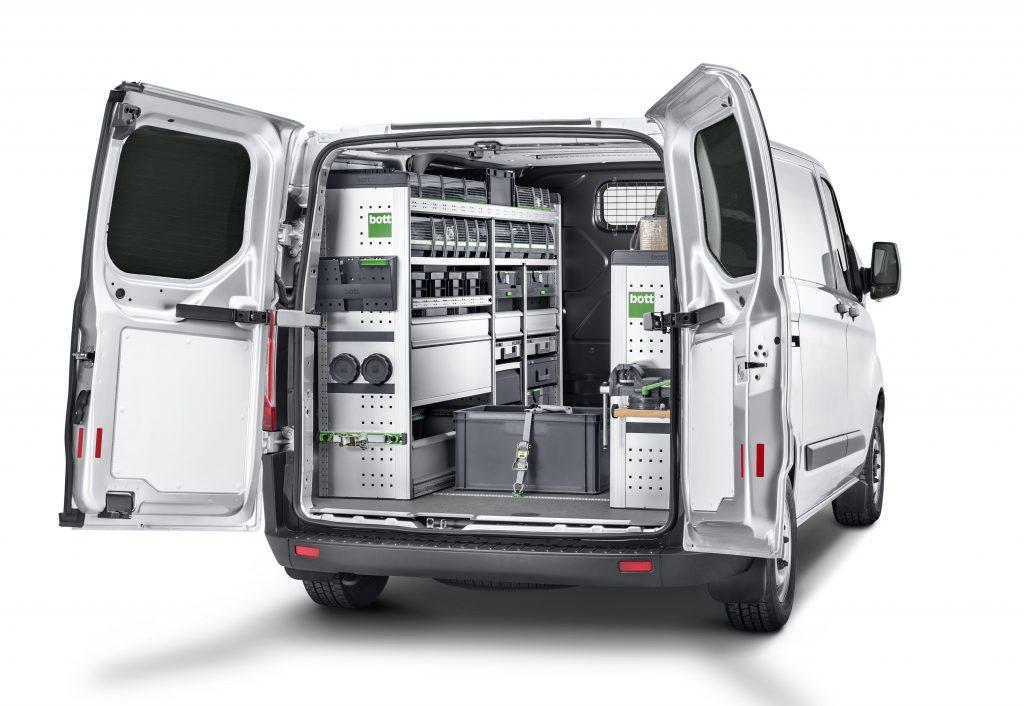 Die bott vario3 Fahrzeugeinrichtung (Bild: Bott GmbH & Co. KG)