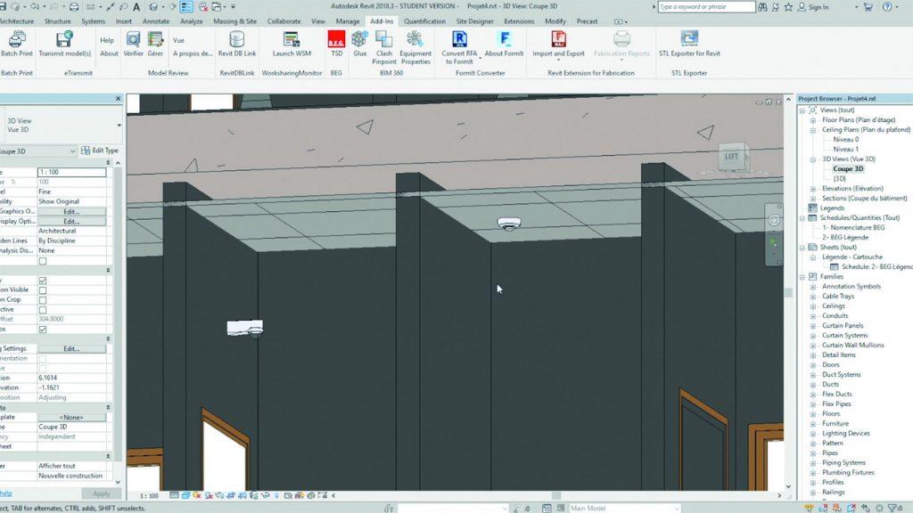 Wie detailliert das 3D-Modell in der Software  dargestellt wird, gibt das LOD (Level of Detail) an. (Bild: B.E.G. Brück Electronic GmbH)