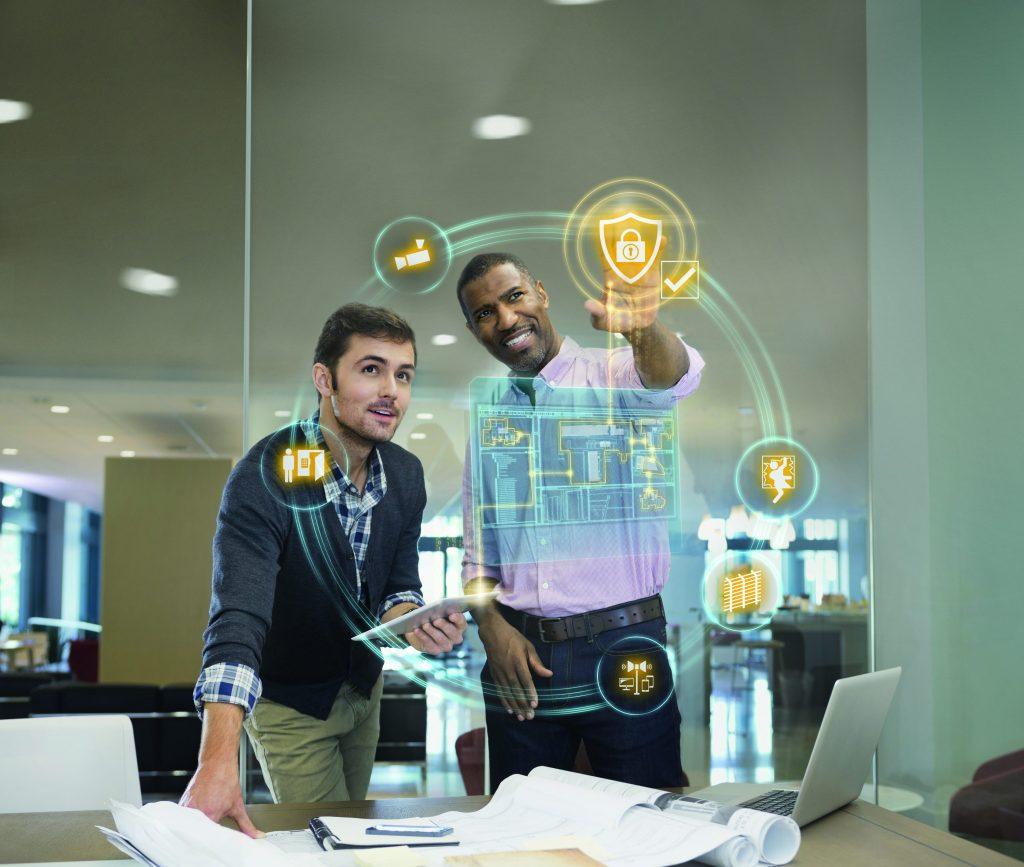 Die Digitalisierung bietet mit virtuellen Medien und Simulationen ganz neue Möglichkeiten für die Planung von Sicherheitstechnik. (Bild: Siemens AG)