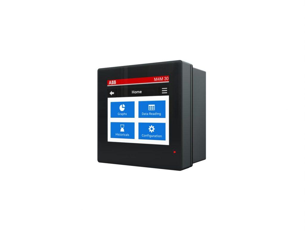 Das Touchscreen des M4M 30 Gerätes ermöglicht eine leichte Bedienbarkeit. (Bild: ABB Stotz-Kontakt GmbH)