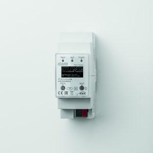 Jung IP-Router und IP-Schnittstelle verbinden via IP KNX-Geräten mit dem PC oder anderen Datenverarbeitungsgeräten. (Bild: Albrecht Jung GmbH & Co. KG)