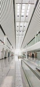 Dali LED-Treiber ermöglichen Light on Demand im weitläufigen Innenbereich. (Bild: Tridonic GmbH & Co. KG)