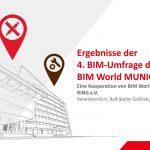 BIM-Umfrage im Rahmen der BIM World Munich
