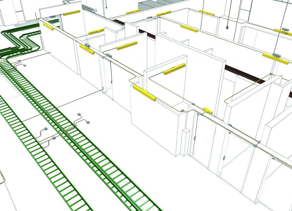 Auf der Light + Building präsentiert Data Design System die neuen DDS-CAD-Funktionen rund um die Kabelverlegung und das Verteilermanagement. (Bild: Data Design System GmbH)