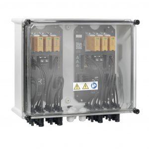 Der Generatoranschlusskasten PV Next wird gemäß IEC 61439 -1 /2 geprüft. (Bild: Weidmüller GmbH & Co. KG)