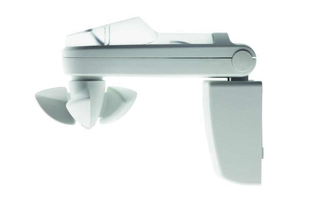 Der intelligente Sonnen-Wind-Regen Sensor SC911 mit integriertem Funkempfänger schützt bei schlechtem Wetter. (Bild: Becker-Antriebe GmbH)