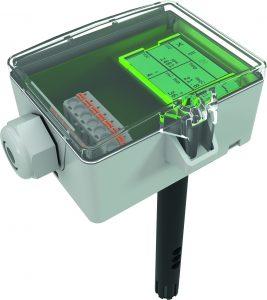 Auch Kombifühler zur Montage im Lüftungskanal sind erhältlich. (Bild: Thermokon Sensortechnik GmbH)