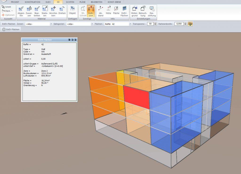Einzelflächen übersichtlich darstellen (Bild: ZUB Systems GmbH)