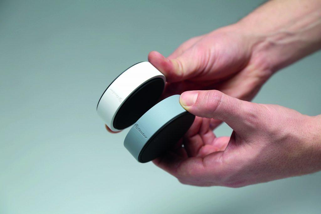 Beyon ist in verschiedenen Farben und unterschiedlichen Schutzringen aus Silikon erhältlich. (Bild: Finder GmbH)