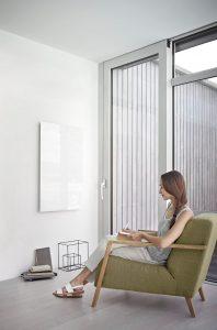 Moderne Glasheizungen erfüllen hohe Ansprüche an Wärme und Design. (Bild: AEG Haustechnik GmbH)