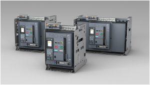 Die Reihe 3WA erneuert das Sentron-Portfolio für offene Leistungsschalter von Siemens. (Bild: Siemens AG)