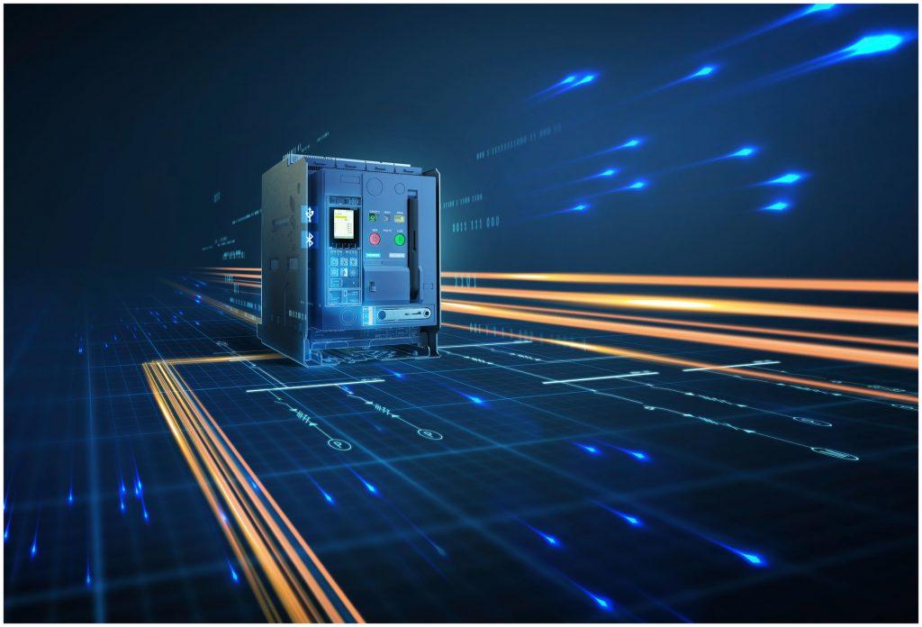 Bei veränderten technologischen Anforderungen lässt sich die in den Leistungsschaltern verbaute elektronische Auslöseeinheit durch webbasierte Upgrades um neue Funktionen erweitern. (Bild: Siemens AG)