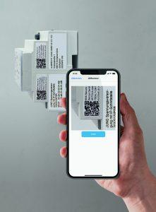 Per App KNX Secure Scanner erfassen Systemintegratoren sicher die Zertifikate der KNX-Geräte. (Bild: Albrecht Jung GmbH & Co. KG)