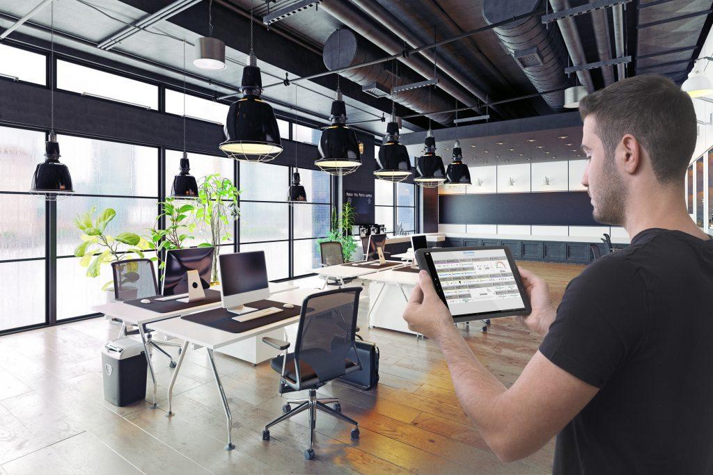 Das IoT-Dashboard von Busch-Jaeger bewährt sich bei der Überwachung und Steuerung von Industrie-, Gewerbe- und Wohnanlagen. (Bild: Busch-Jaeger Elektro GmbH)