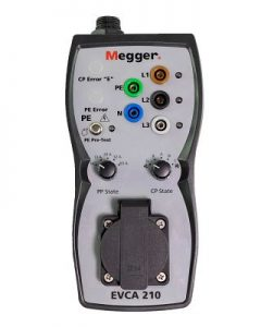 EV-Adapter EVCA210 (Bild: Megger GmbH)