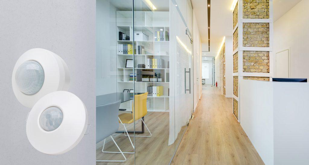 Auch weitläufige Räume können dank großer Reichweite und Master-Slave-Verfahren problemlos erfasst werden. (Bild: Heinrich Kopp GmbH)
