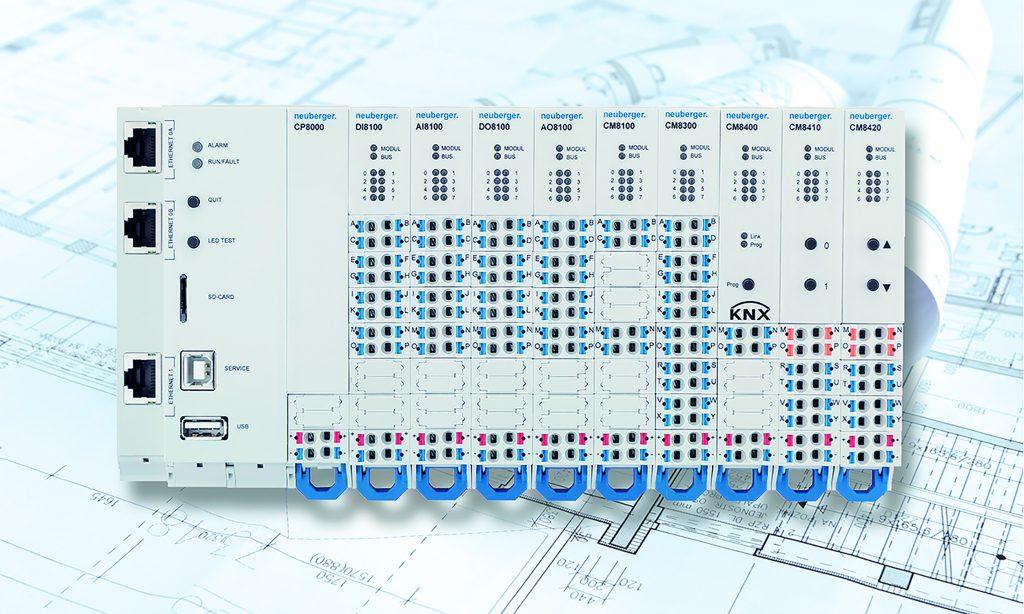 Dank integraler und gewerkeübergreifender Planung kommt das Raumautomationssystem Open.Room vermehrt bei KNX- und Dali-Bussystemen zum Einsatz. (Bild: Neuberger Gebäudeautomation GmbH)