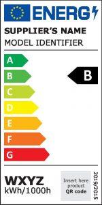 Das neue Energielabel für Lichtquellen verzichtet ab 1. September 2021 auf Plusklassen und gibt die Energieeffizienz von A (beste) bis G (schlechteste) an. (Bild: European Commission, 2019)