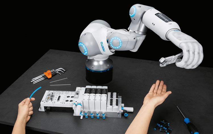 Pneumatische Robotik trifft auf künstliche Intelligenz