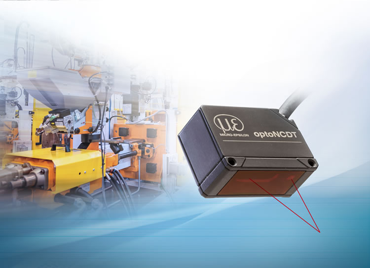 Kompakter Laser-Wegsensor für die Automation