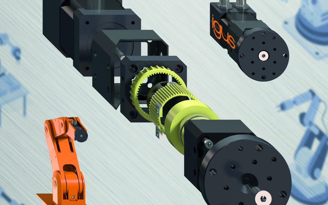 Neue Wellgetriebe für den Robotereinsatz