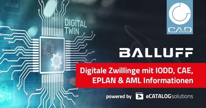 Balluff nutzt digitalen Zwilling