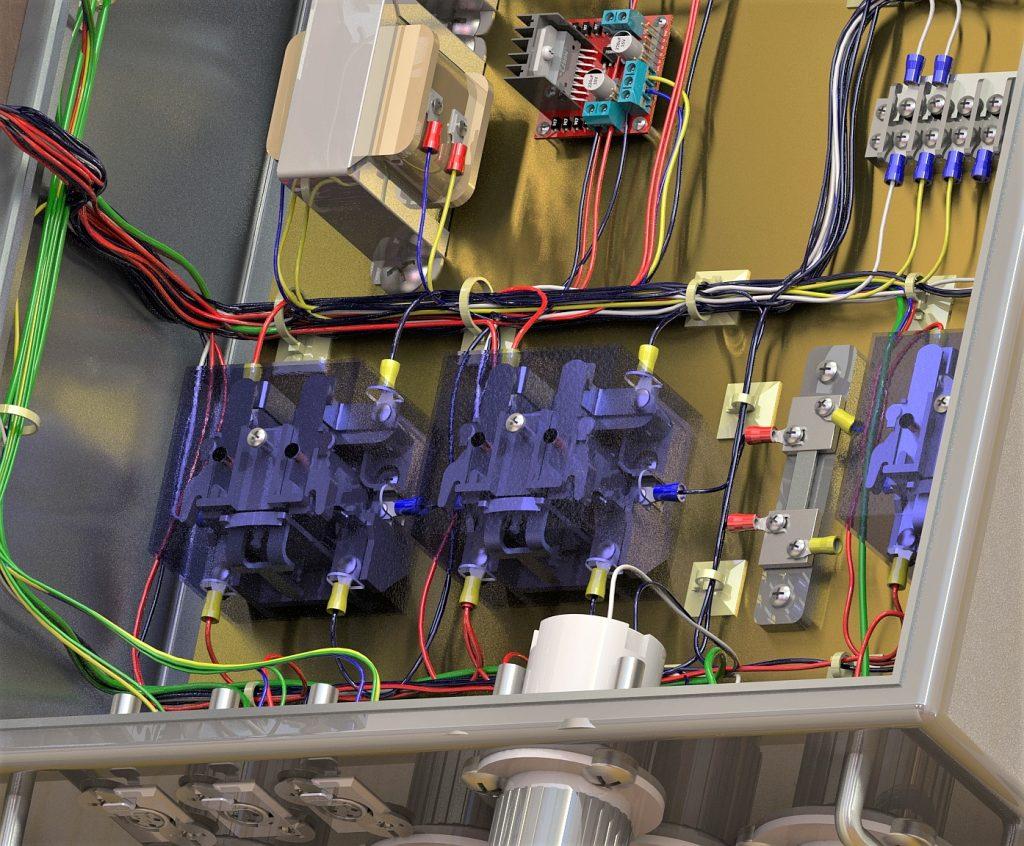 Solidworks Electrical vereint die mechanische und die elektrische Konstruktion. Der Konstrukteur erhält die Mechanik in 3D, wie auch die elektrische Logik.