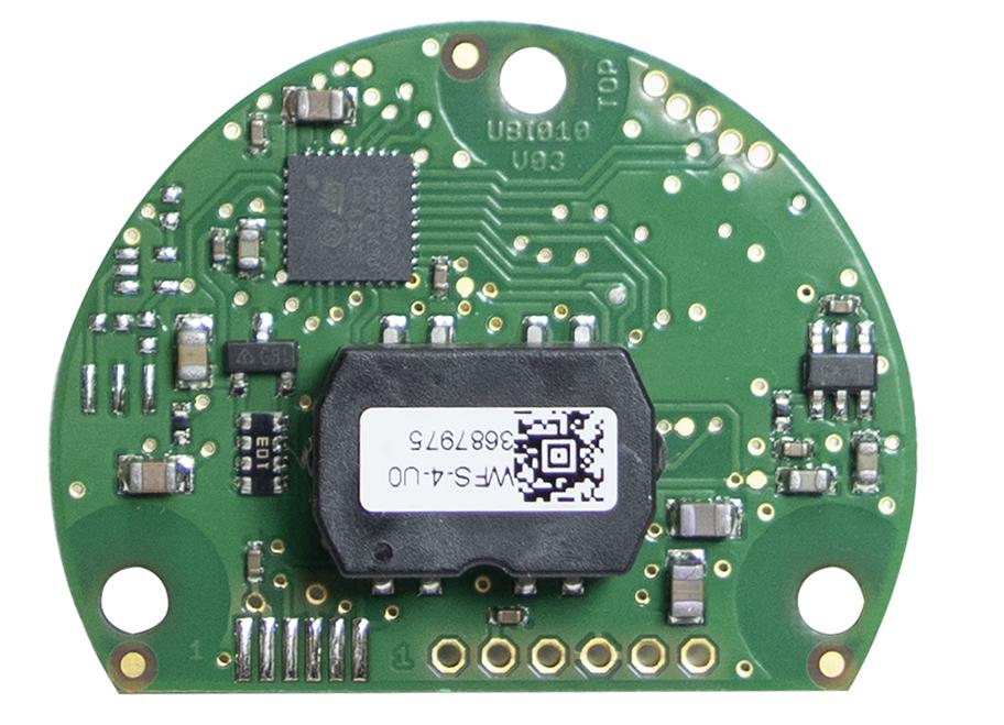Multiturn-Zählwerk ohne Batterien