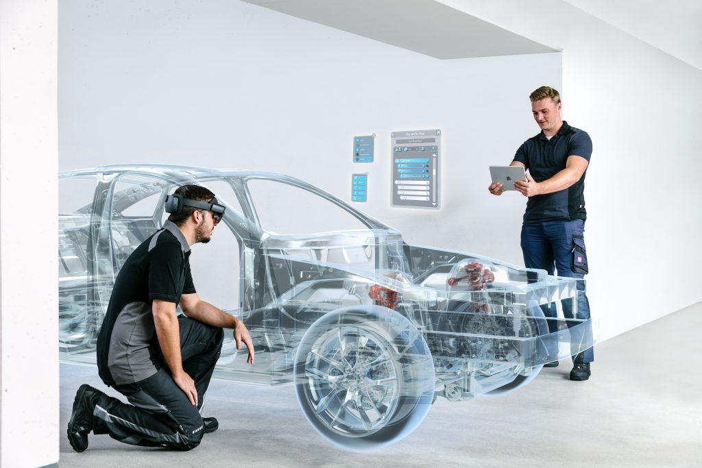 Augmented Reality eröffnet neue Wege, Designs kollaborativ zu überprüfen.