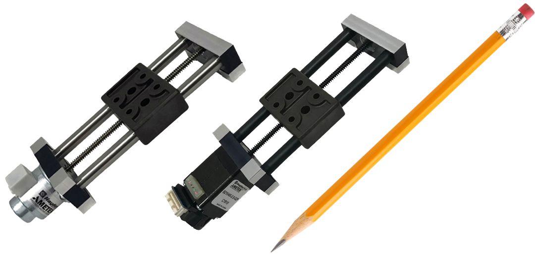 Miniatur-Lineareinheiten mit Schrittmotor